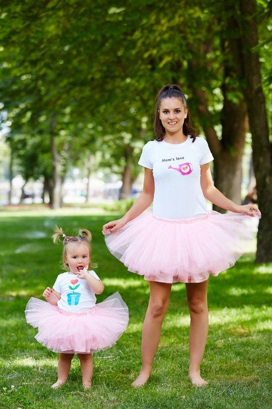 Фатиновая юбка для мамы и дочки своими руками 77
